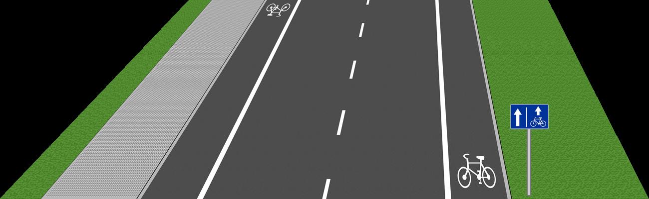pas rowerowy