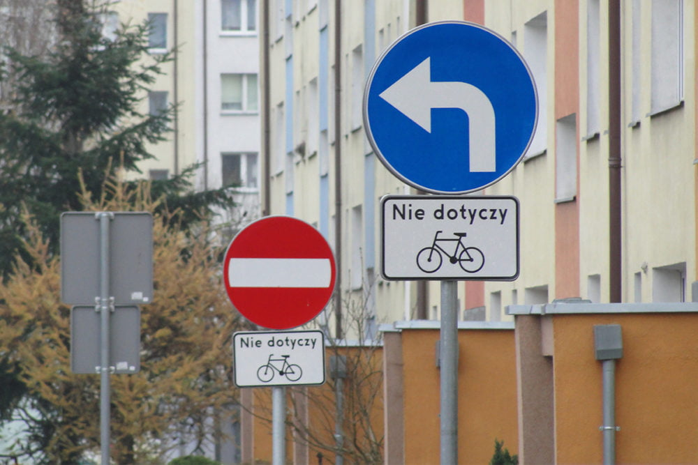 kontraruch rowerowy