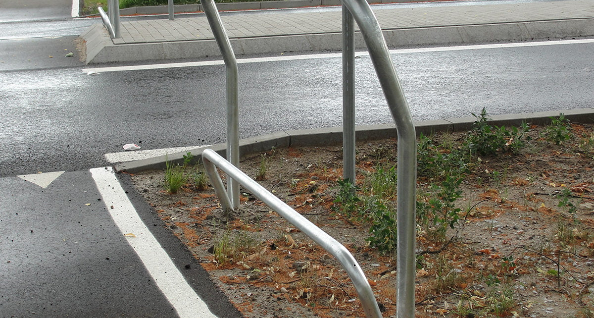 podpórki rowerowe