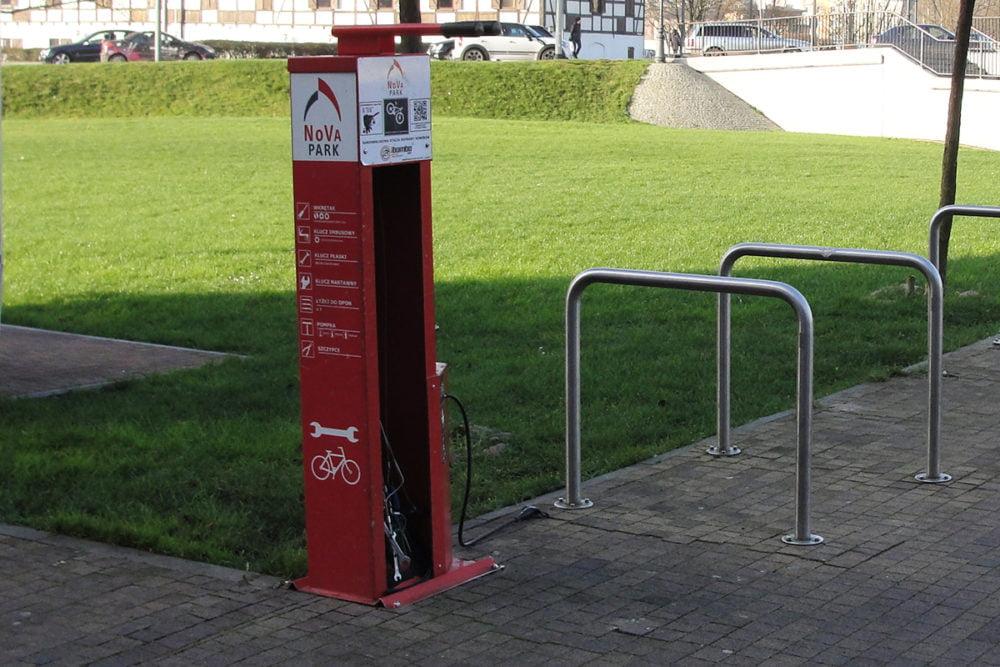 stacja naprawy rowerów