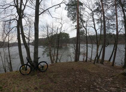rowero jezioro